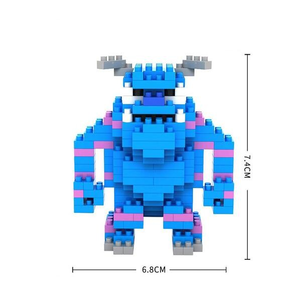 LOZ 9163 Monsters Inc Sulley