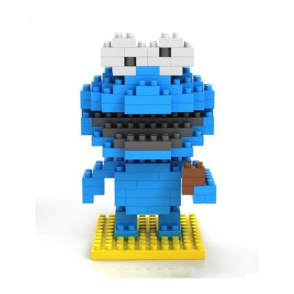 LOZ 9119 Sesame Street Cookie Monster