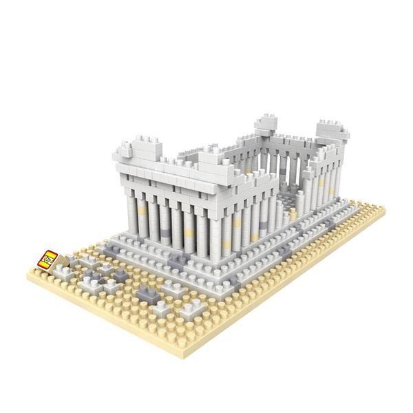 LOZ Greek Temple