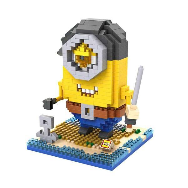 LOZ 9607 Despicable Me Evil Pirate Minion