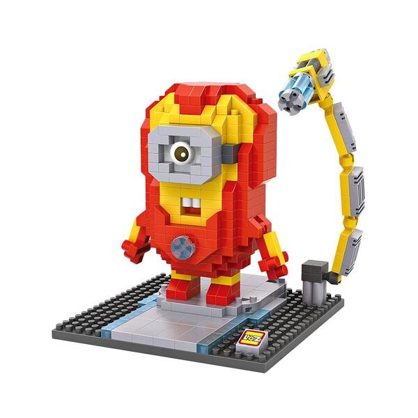 LOZ Despicable Me Iron Man