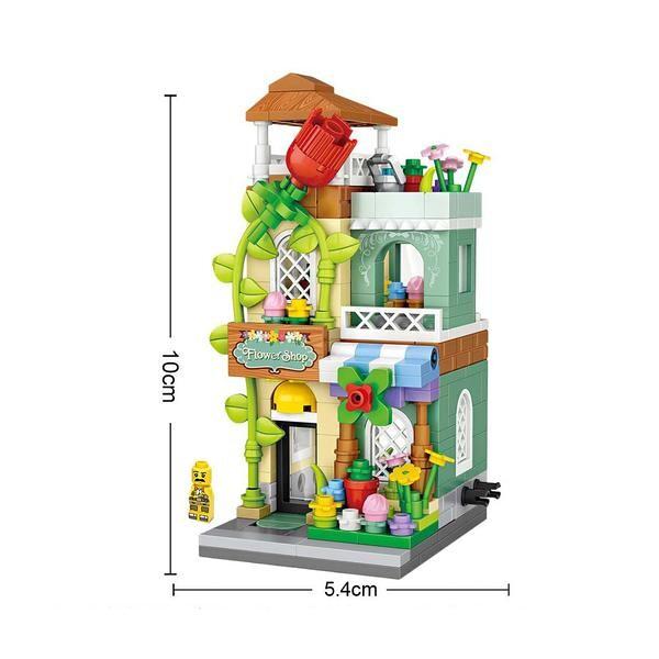 LOZ 1633 Flower Shop