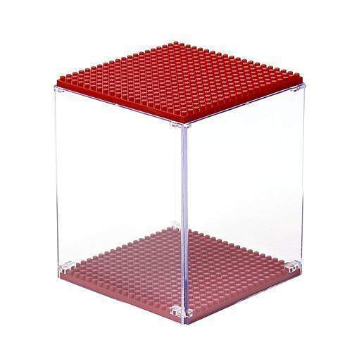LOZ Display Case Red