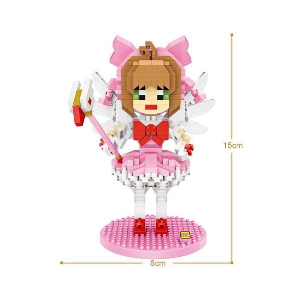 LOZ 9795 Magical Girl Sakura Kinomoto
