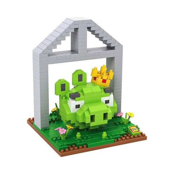 LOZ Angry Birds King Pig Small