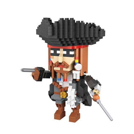 LOZ 9762 Captain Jack Sparrow