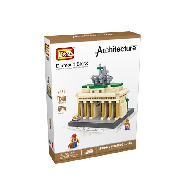 LOZ 9385 Brandenburg Gate