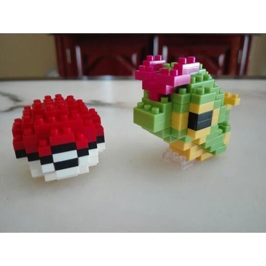 LNO 2331 Pokémon Caterpie and Pokeball