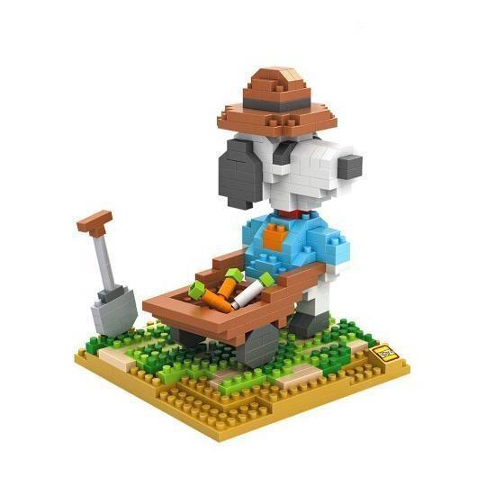 LOZ 9526 Snoopy Gardener