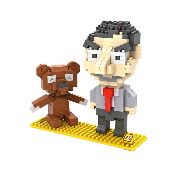 LOZ 9507 Mr. Bean and Teddy