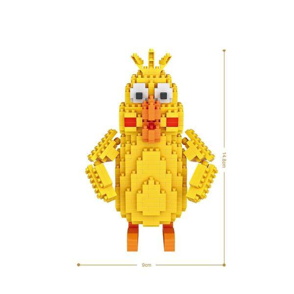 LOZ 9764 Yellow Bird Tim