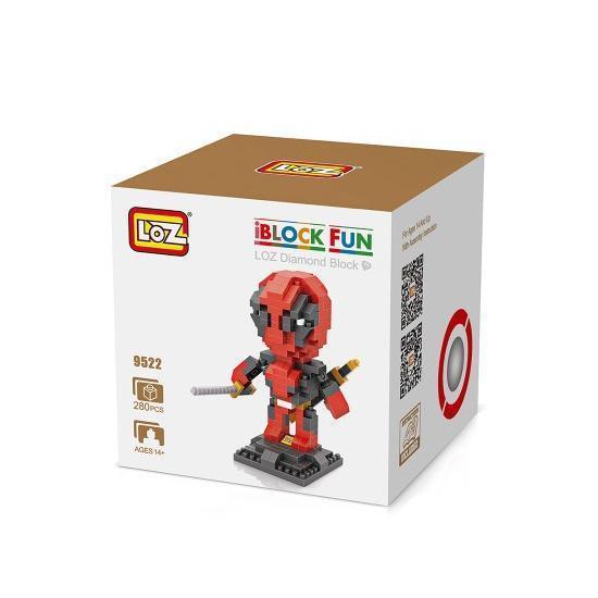 LOZ 9522 Superhero Deadpool
