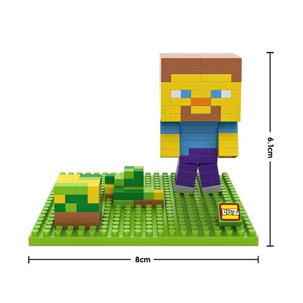 LOZ 9467 Minecraft Yellow Head