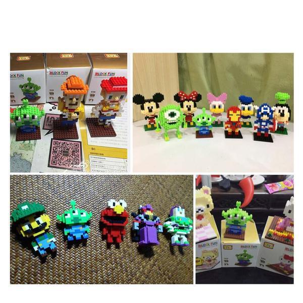 LOZ Toy Story Alien