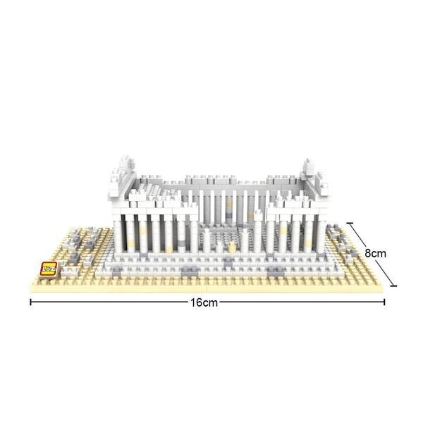LOZ 9383 Greek Temple