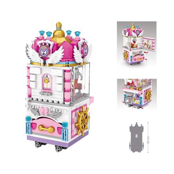 LOZ 1721 Amusement Park Claw Crane