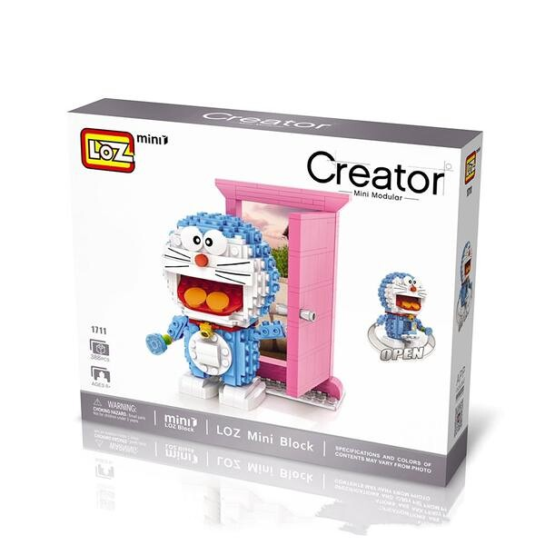 LOZ Mini Doraemon Pink Door