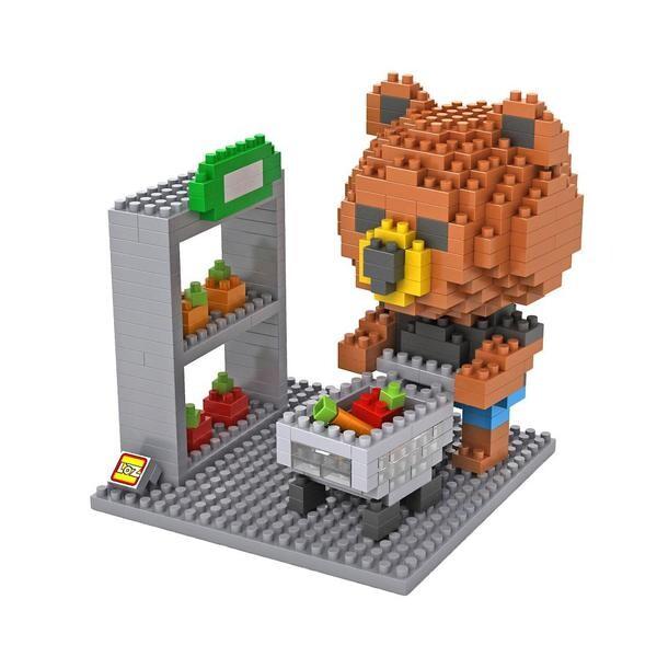 LOZ 9432 Brown Bear Shopping