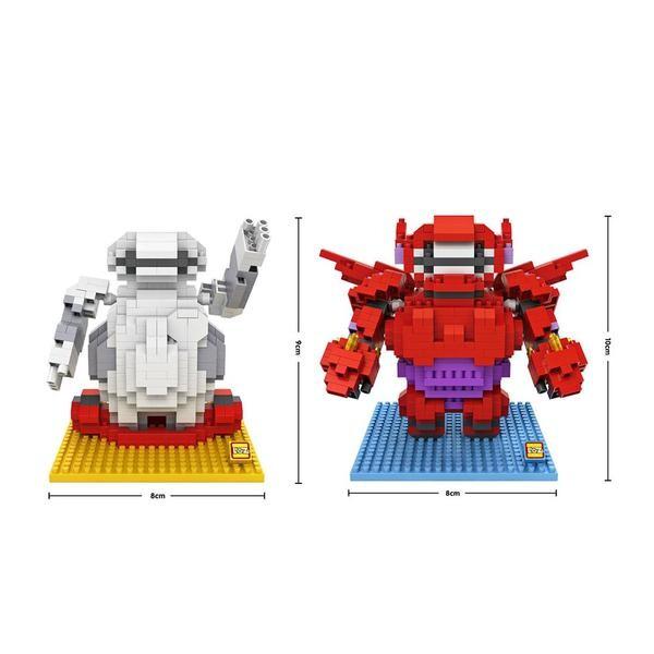 LOZ 9601-9602 Big Hero 6 Baymax