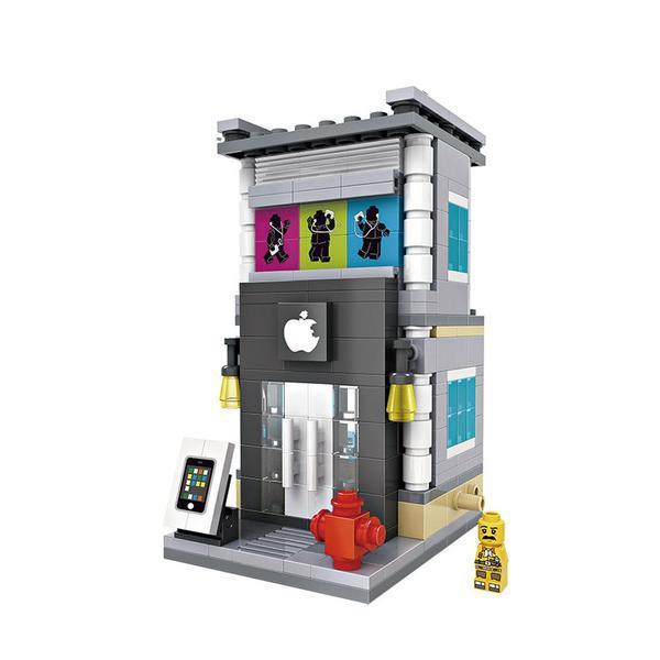 LOZ Mini Street Apple Store