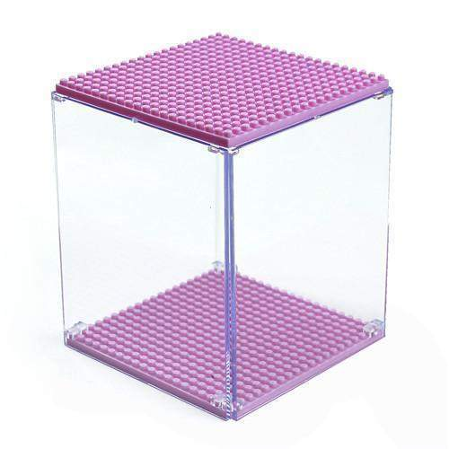LOZ Display Case Pink
