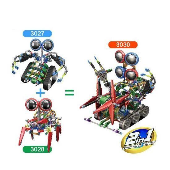 LOZ 3030 Big 4-Eyed Robot Bundle