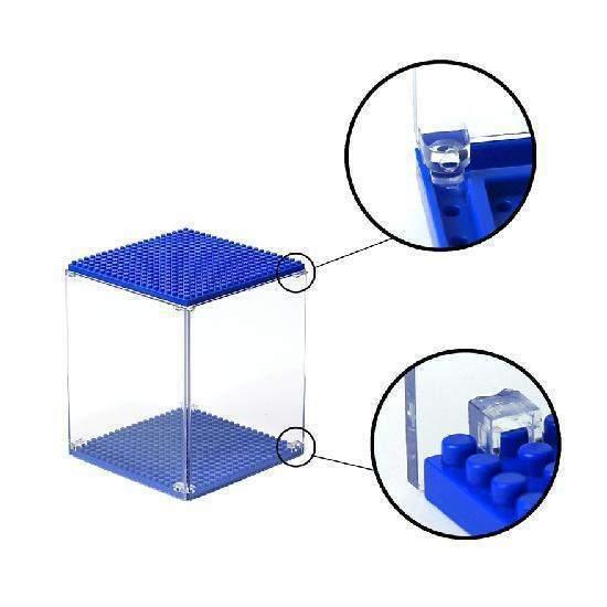 LOZ 9900-3 Dark Blue Display Case