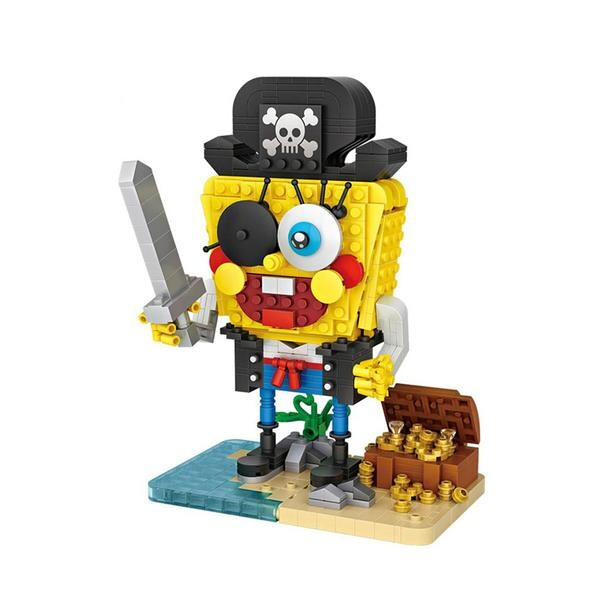LOZ Spongebob Pirate