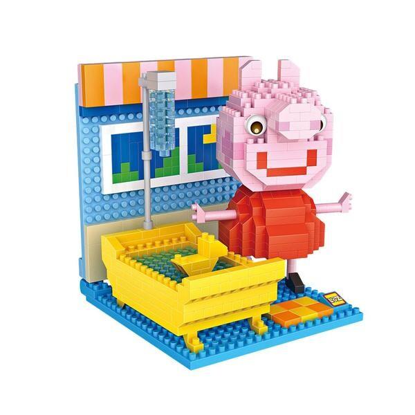 LOZ Peppa Pig Bathing