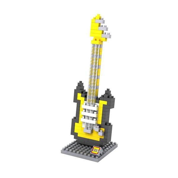 LOZ 9193 Yellow Electric Guitar
