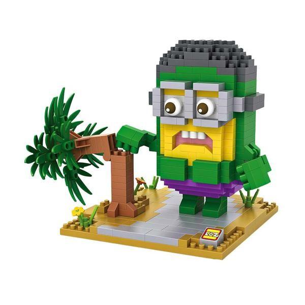 LOZ 9539 Despicable Me Hulk