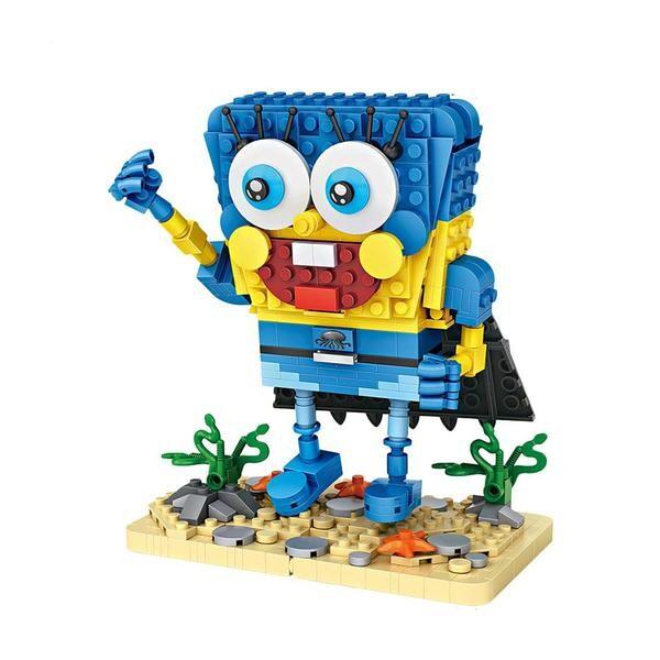 LOZ Spongebob Blue Hero