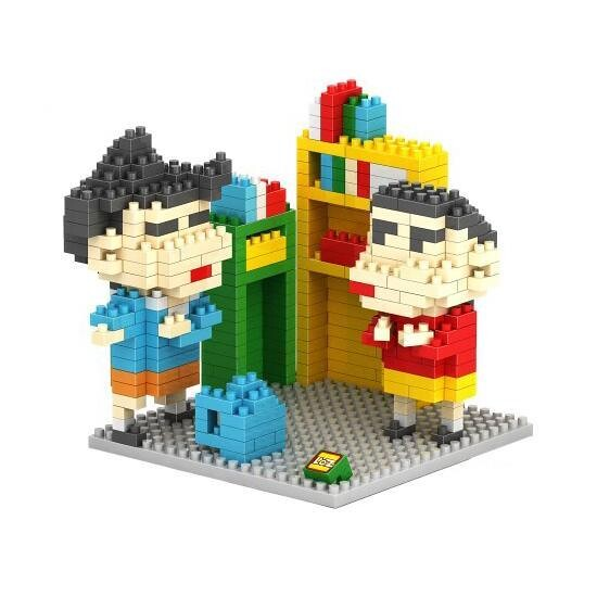 LOZ Shin Chan and Georgie