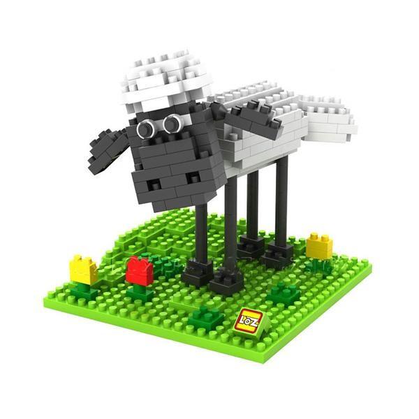 LOZ 9476 Farm Animals Sheep