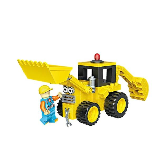 LOZ 1515 Bob the Builder Bulldozer Scoop