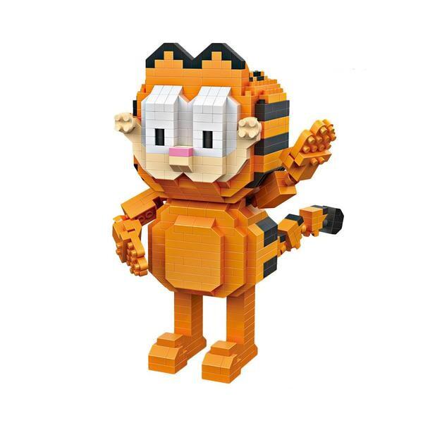 LOZ 9758 Garfield Waving
