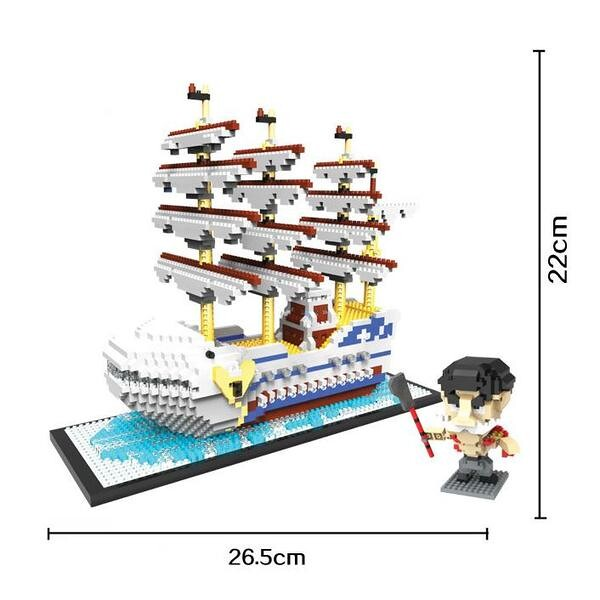 Magic Blocks 9024 White Ship
