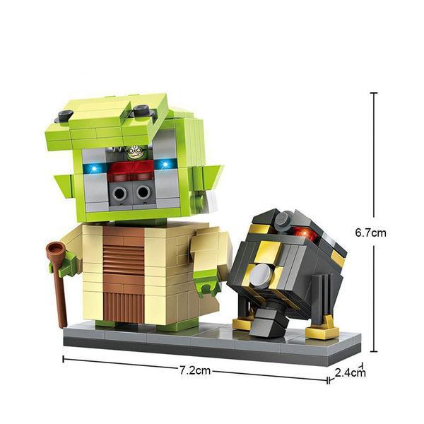 LOZ 1504 Yoda and R2-Q5