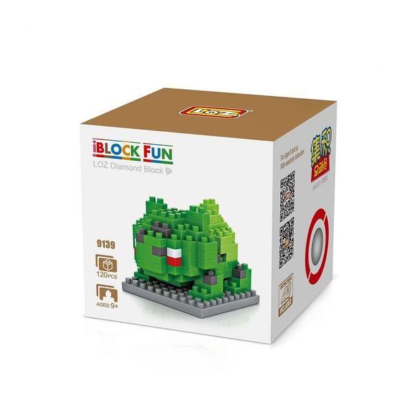 LOZ 9139 Pokémon Bulbasaur