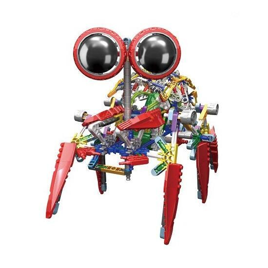 LOZ 4-Eyed Robot Red Scorpion