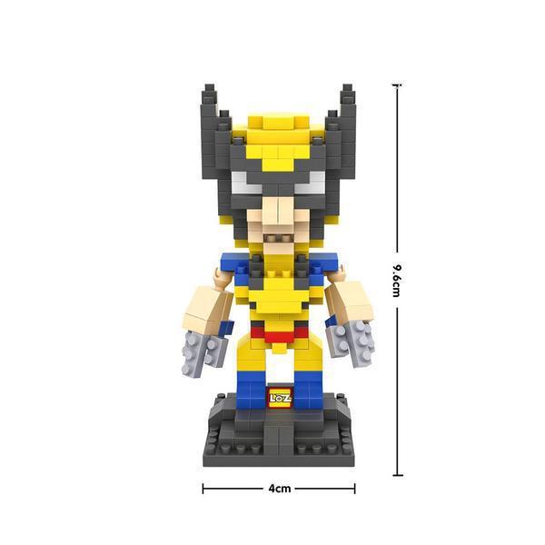 LOZ 9459 Superhero Wolverine
