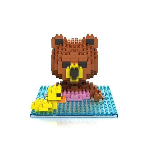 LOZ 9428 Brown Bear Swim