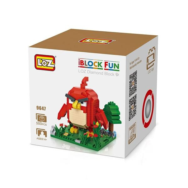 LOZ 9647 Red Angry Birds