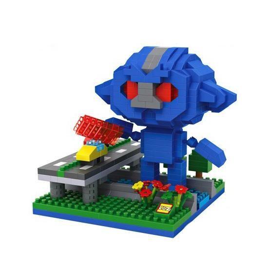 LOZ Ultraman Blue Alien