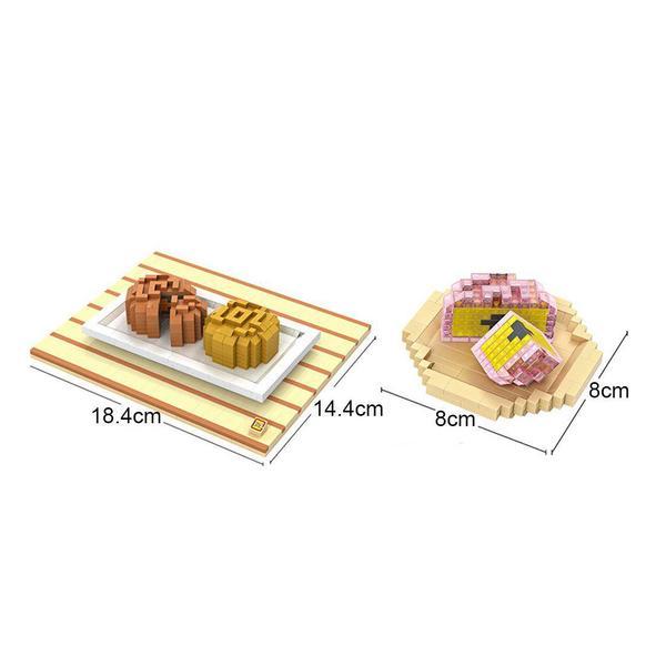 LOZ 9393 Mooncake Meal Set