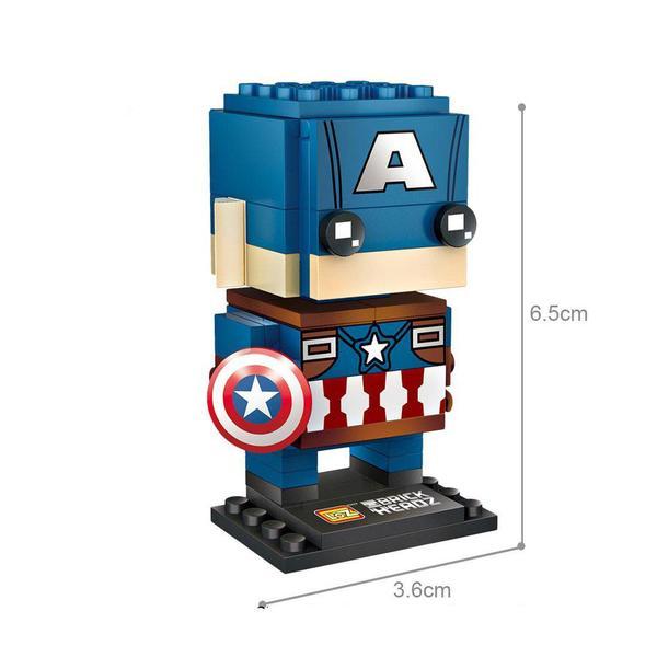 LOZ 1421 Captain America