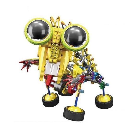 LOZ 3025 4-Eyed Robot Yellow Mantis