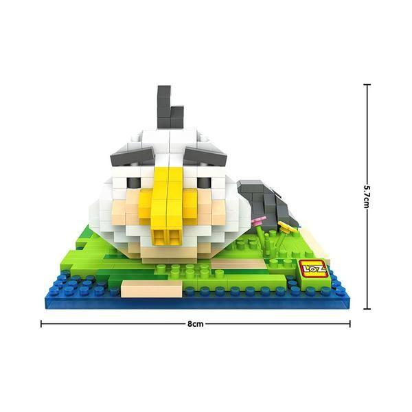 LOZ 9516 Angry Birds Small Matilda
