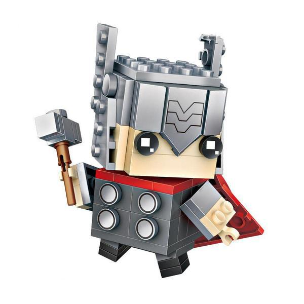 LOZ 1423 Brickheadz Thor