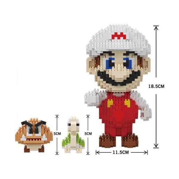 Balody 16009 Super Mario with White Cap